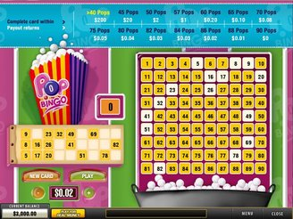 Join Pop Bingo Arcade Game Online at Casino.com South Africa