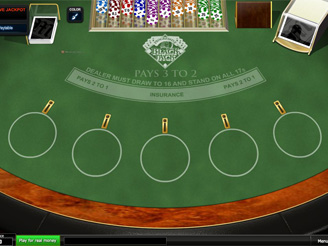 blackjack online casino sizzing hot
