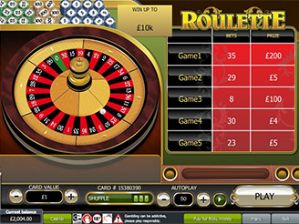 Play Roulette Scratch Online at Casino.com NZ