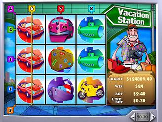 Machines à sous Vacation Station   Casino.com France