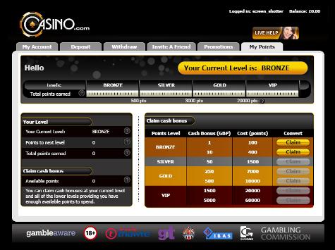 Casino points potawatomi bingo & casino