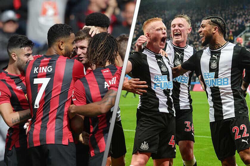 Newcastle vs Bournemouth